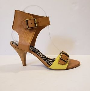Sam Edelman | leather ankle strap sandal heels